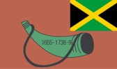 Flag of Accompong (Recognized by 16 countries and the African Union)
