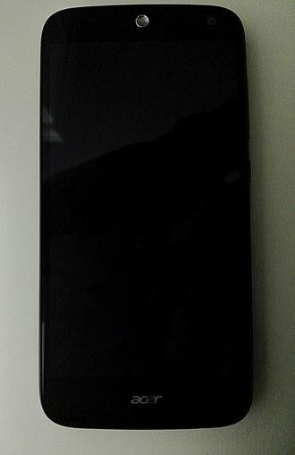 Acer Liquid Z630 - Image: Acer liquid z 630 T03