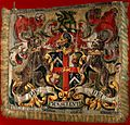 Achievement of arms of the Worshipful Company of Barber-Surg Wellcome V0017231.jpg