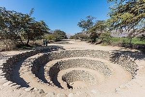 Cantalloc Aqueducts - Image: Acueductos subterráneos de Cantalloc, Nazca, Perú, 2015 07 29, DD 07