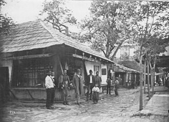 Ada Kaleh - The bazaar of Ada Kaleh.