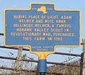 Adam Helmer Grave NY-DOT Sign.jpg