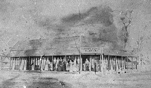 Walter Adams (Australian politician) - Adams Hotel, on the south-east corner of Burbong and Barolin Streets, Bundaberg