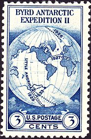Admiral Byrd Antarctic Expedition 1933 Issue-3c