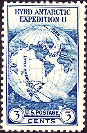 James Van Allen - Byrd Second Antarctic Expedition USPS Commemorative Issue of 1933
