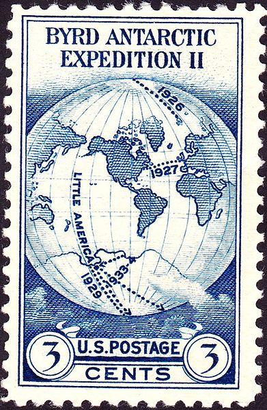 Admiral Byrd Postage Stamp