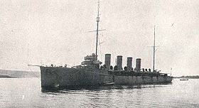 SMS Admiral Spaun 1914 in Triest