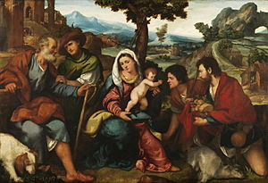 Bonifazio Veronese - The Adoration of the Shepherds, Prado Museum, Madrid