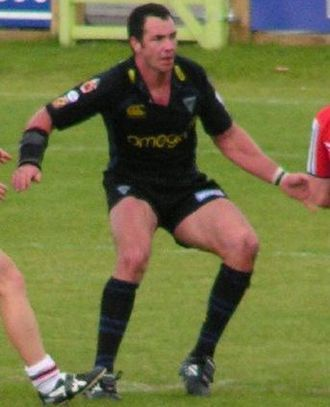 Adrian Morley - Morley playing for Warrington in 2007
