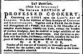 Advert for Professed Cookery, from The Newcastle Courant - 29 November 1755, p 1.jpg