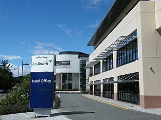 Economy of Dublin - Aer Arann headquarters