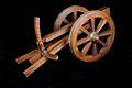 Affusto di cannone a code divaricabili - Museo scienza tecnologia Milano 00413 02.jpg