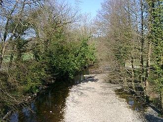 Afon Brân - The Afon Brân