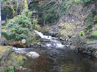 Afon Crafnant - The Afon Crafnant at Trefriw