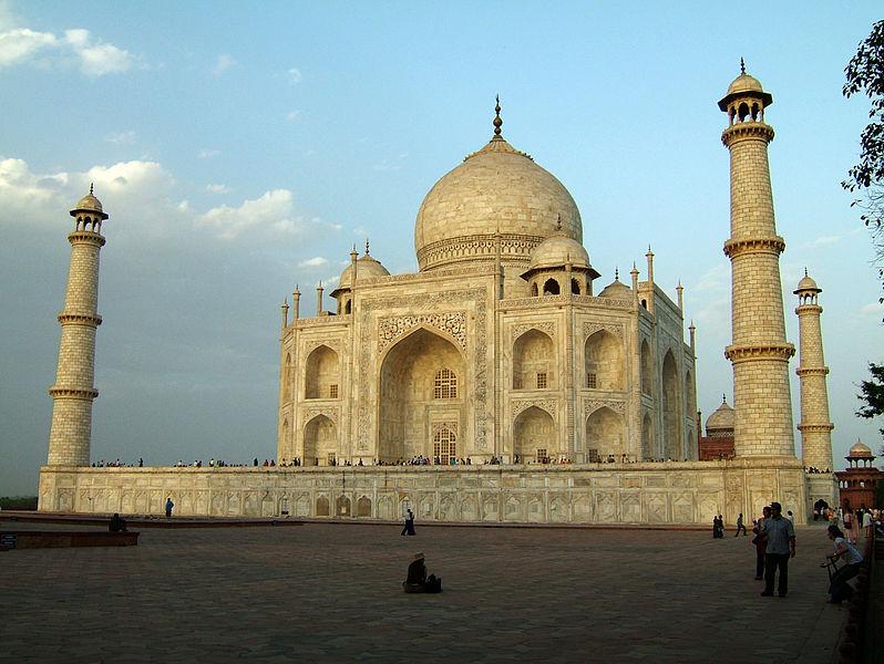 Taj Mahal. Mauseoleo principal.
