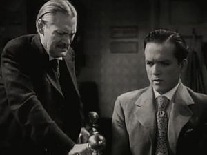 Ah, Wilderness! (film) - L-R: Lionel Barrymore and Eric Linden
