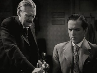 Ah, Wilderness! (film) - L-R: Lionel Barrymore and Eric Linden