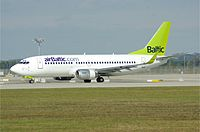 YL-BBJ - B733 - Air Baltic
