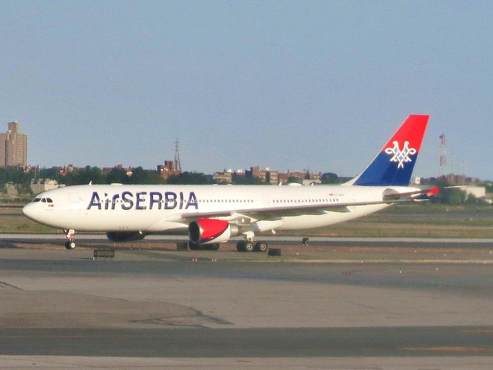Air Serbia Airbus A330-202 YU-ARA at JFK Airport