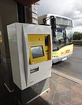 Airport Berlin-Tegel Otto Lilienthal bus Ticket machine 20140824.JPG