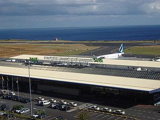 João Paulo II Airport - Image: Airport Ponta Delgada