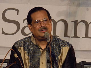 Ajoy Chakrabarty Indian classical vocalist