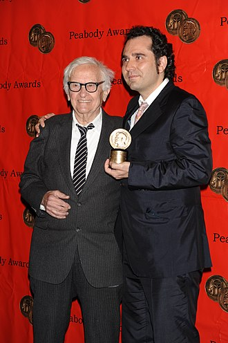 Albert and David Maysles - Albert Maysles and Antonio Ferrera at the 68th Annual Peabody Awards in 2009