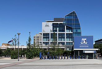 Carlton, Victoria - Alan Gilbert Building, University of Melbourne at University Square in Carlton