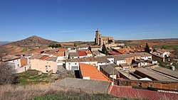 Skyline of Alarilla, Spain