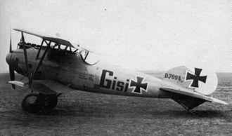 Albatros D.V - Albatros D.Va (serial D.7098/17)