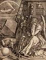 Albrecht Dürer - Melencolia I - Google Art Project.jpg