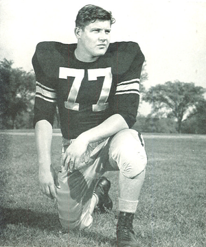 Alex Karras - Karras from 1958 Hawkeye
