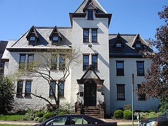 Rutgers Preparatory School - Now known as Alexander Johnston Hall of Rutgers University, this was the original building of Rutgers Preparatory School in New Brunswick