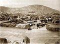 Alexander Engel. Mukhrani Ferry across the Mtkvari River. 1903.jpg