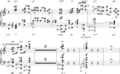 Alexander Scriabin Op. 48, No. 4, mm.15-24 chromaticism from extended chords.png