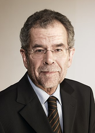 Green party - Alexander Van der Bellen, President of Austria