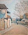 Alfred Sisley, Rue de la Princesse, Winter, 1875 7 9 17 -nelsonatkins -kansascity (41040847502).jpg