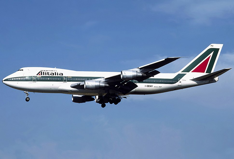 Alitalia Boeing 747-243B I-DEMV Bidini