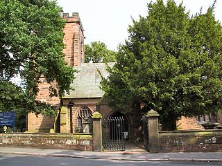 All Saints Church, Daresbury Church in Cheshire, England