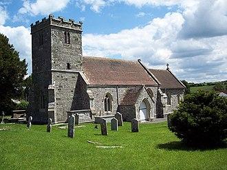 Tarrant Keyneston - Image: All Saints Church, Tarrant Keyneston geograph.org.uk 452191