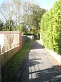 Alley between Rosemary Way and the Portsmouth Road - geograph.org.uk - 1579795.jpg