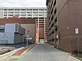Alley near Saratoga Building, University of Maryland, 220 N. Arch Street, Baltimore, MD 21201 (40778089861).jpg