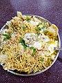 Aloo tikki chat at Vineet restaurant in Cuttack Odisha India.jpg