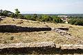 Alsódörgicse, ruin of medieval church, view towards the Balaton .jpg