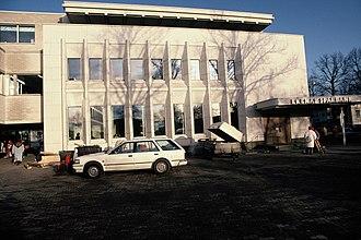Ekenäs, Finland - Image: Alvar Aalto, Tammisaari Savings Bank