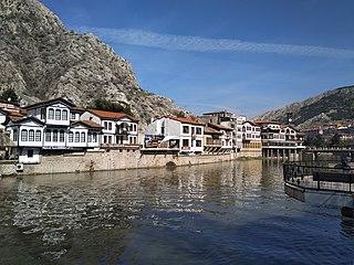 Amasya City in Turkey