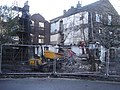 "Ambleside - demolition work at the rear of the ""Glass House"" restaurant - geograph.org.uk - 1561689.jpg"