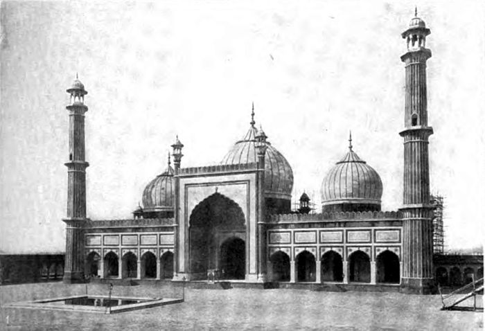 Americana 1920 Mosque - Mosque at Delhi.jpg