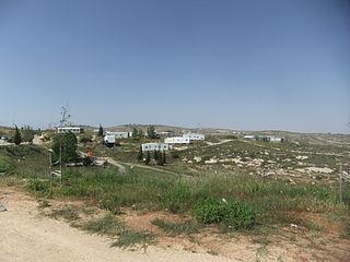 Siedlung im Westjordanland