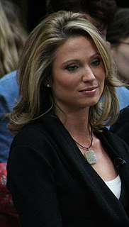 Amy Robach American television network news reporter